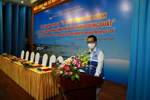 PVChem - Dongil conducts overall maintenance of Dung Quat Refinery